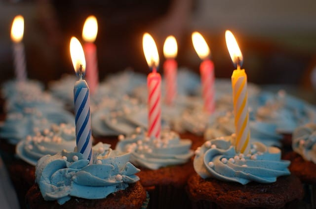 Anniversaire - Birthday - bougie