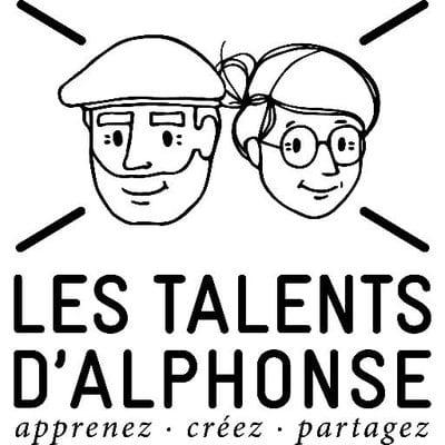 logo les talents d'alphonse