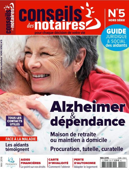 Conseils Notraire - Alzheimer et dépendance