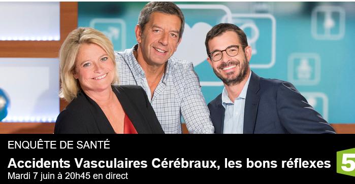 Enquête de Santé-France 5- AVC