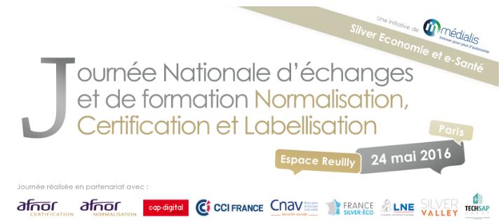 Journée Nationale d'échanges Silver économie et e-Santé