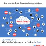 30 mai 2016 : 10ème Forum Européen de l'Accessibilité Numérique