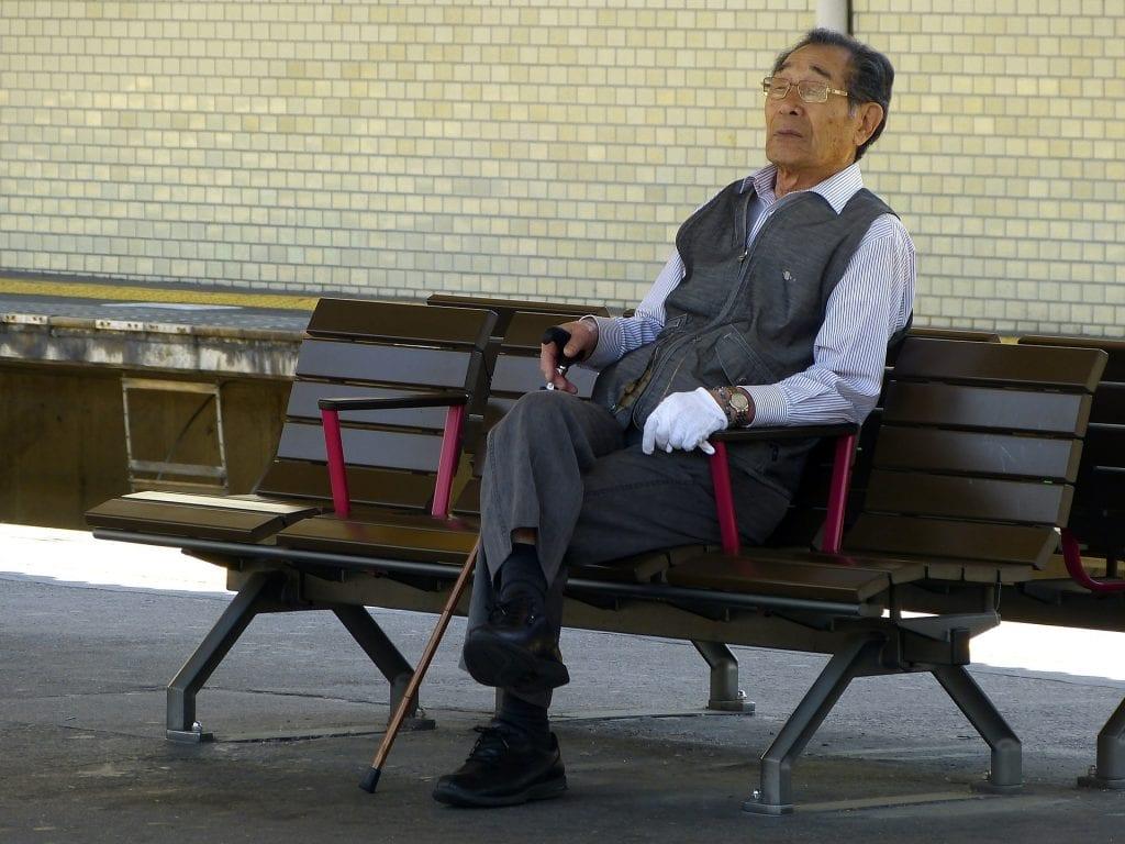 senior japonais précarité