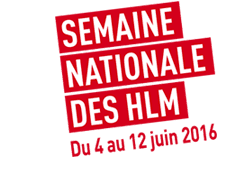 Logo la semaine des HLM 2016