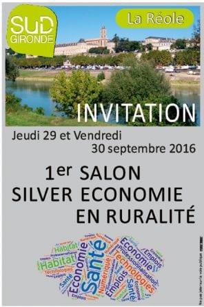 Salon de la silver économie en ruralité Gironde