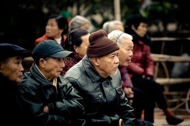 vieillissement asie potian chine