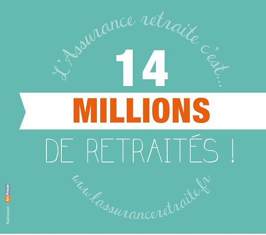 14 millions de retraités en France