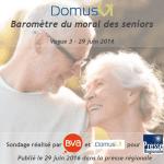 Baromètre DomusVi moral des seniors 2016