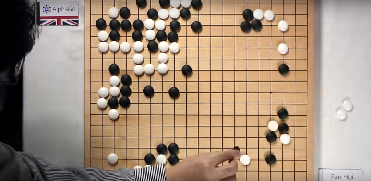 Deepmind jeu de go innovation intelligence artificielle Google