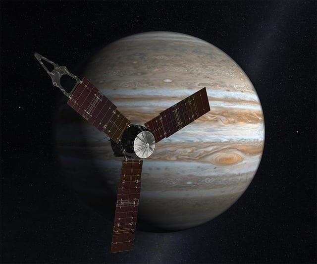 Sonde spatiale Juno Jupiter NASA Susan Finley