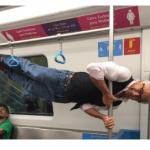 Fit Grandpa métro