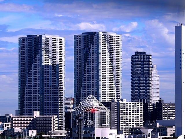 Japon Tokyo immeubles résidences