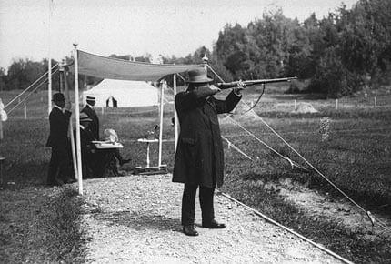 Oscar_Swahn_1912_ Jeux Olympiques