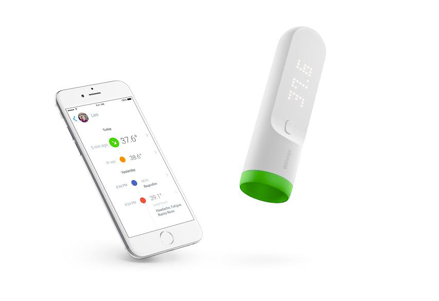 Thermo - thermomètre connecté - Withings
