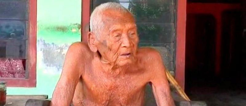 mbah gotho-indonésie-145 ans