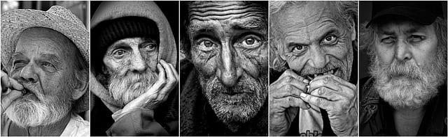 seniors-étanger-personnes âgées