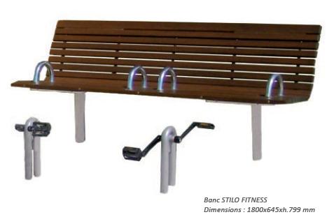 Guyon banc Stilo Fitness