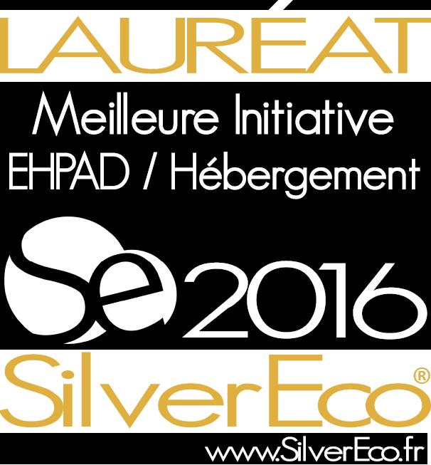 Meilleure initiative Ehpad/ hébergement des Trophées SilverEco 2016