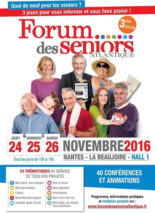 Forum des seniors Atlantique 2016 à Nantes