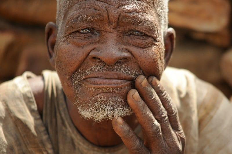 Senior africain