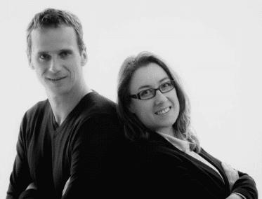 Erwan Taulois et Françoise Roué sont les fondateurs d'Accomodo