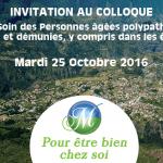 Colloque organisé par Pour Etre Bien Chez Soi le 25 octobre 2016 à La Réunion