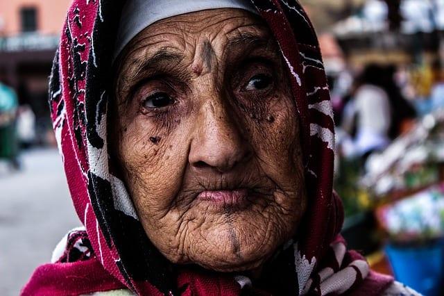 Personne âgée marocaise