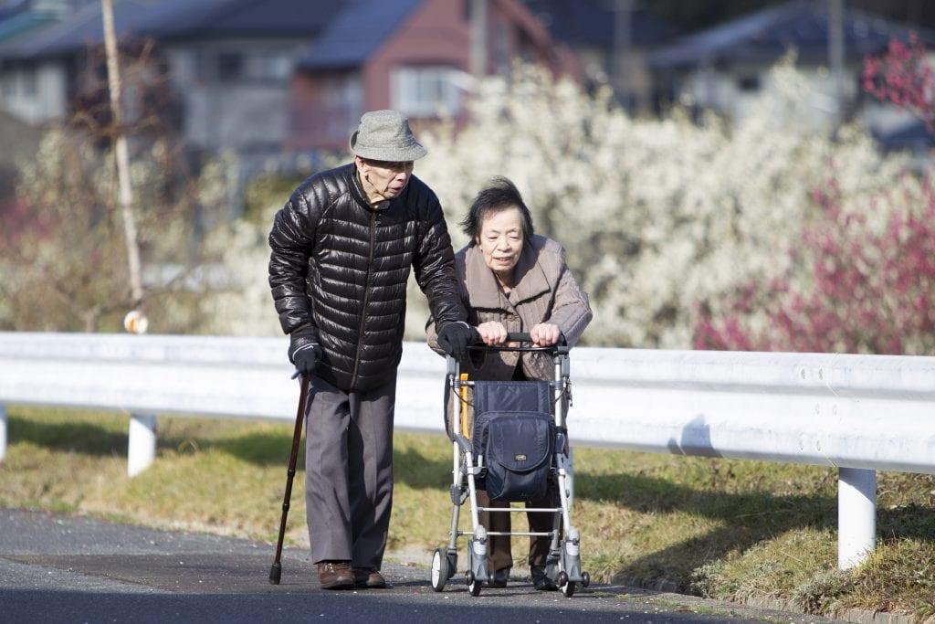 Le vieillissement de la population japonaise