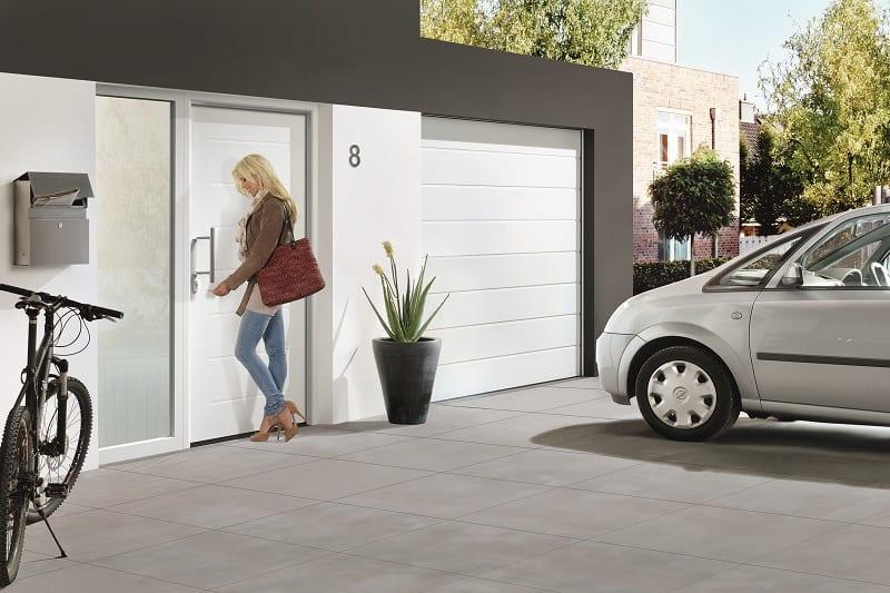 Porte motorisée garage Hormann