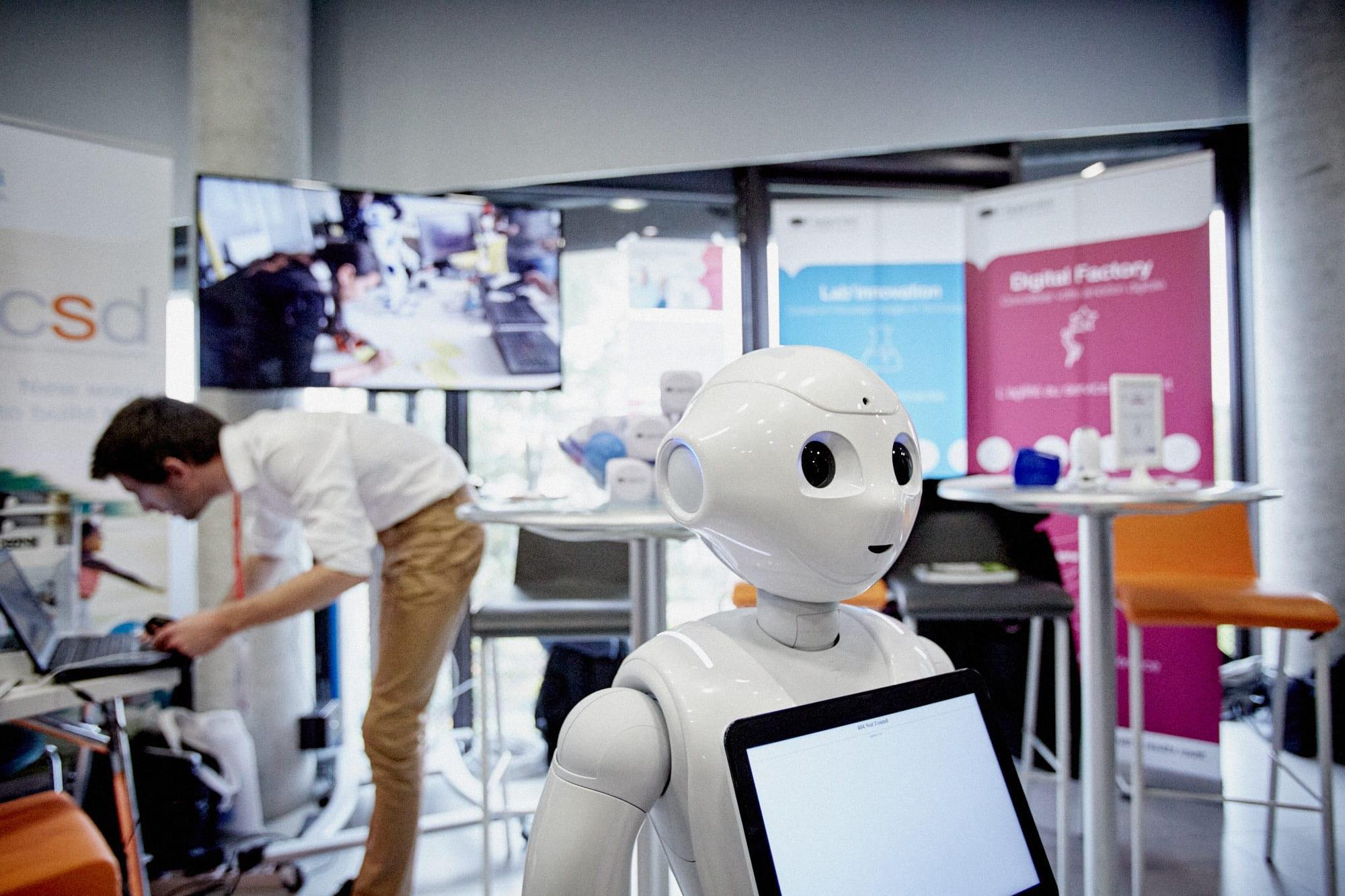 La robotique au service des personnes âgées