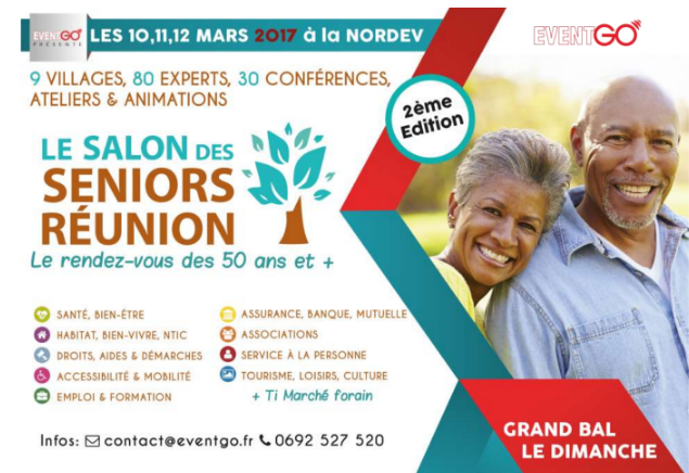 Save the date les 10 11 12 mars 2017 ce sera le salon for Salon des seniors 2017