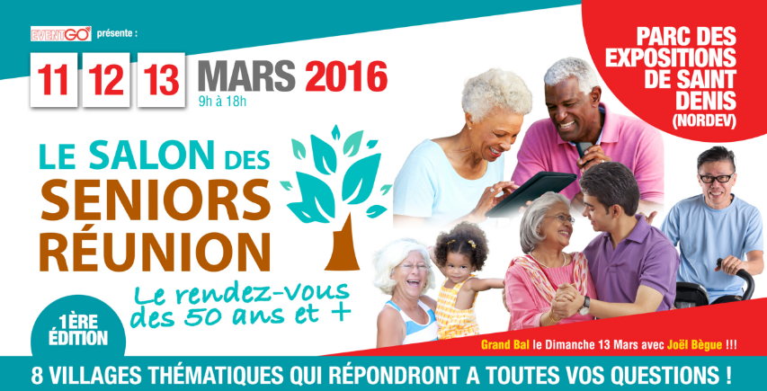 Salon des seniors réunion à Saint-Denis