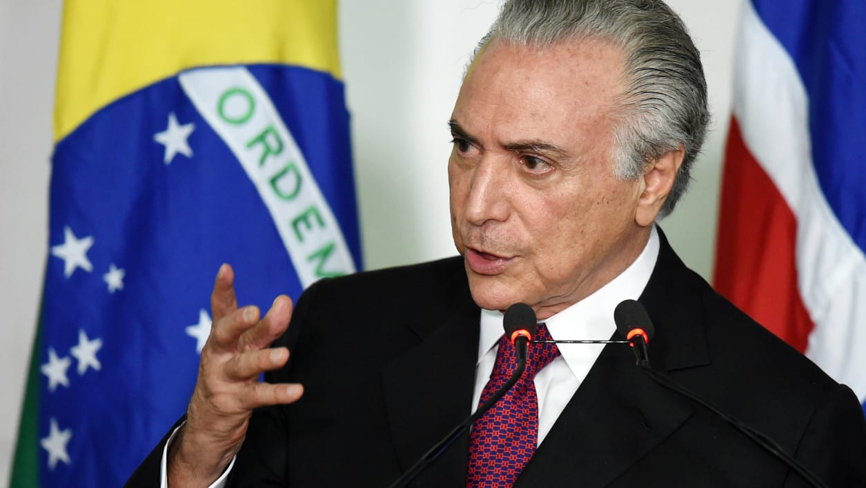 Monsieur Michel Temer, Président du Brésil