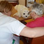Etude sur les usages de Paro pour les résidents atteints d'Alzheimer en EHPAD mutualistes