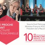 13 décembre 2016 : 10e Rencontres France Alzheimer et maladies apparentées