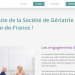 Nouveau site Internet pour la Société de Gériatrie et Gérontologie en Ile-de-France