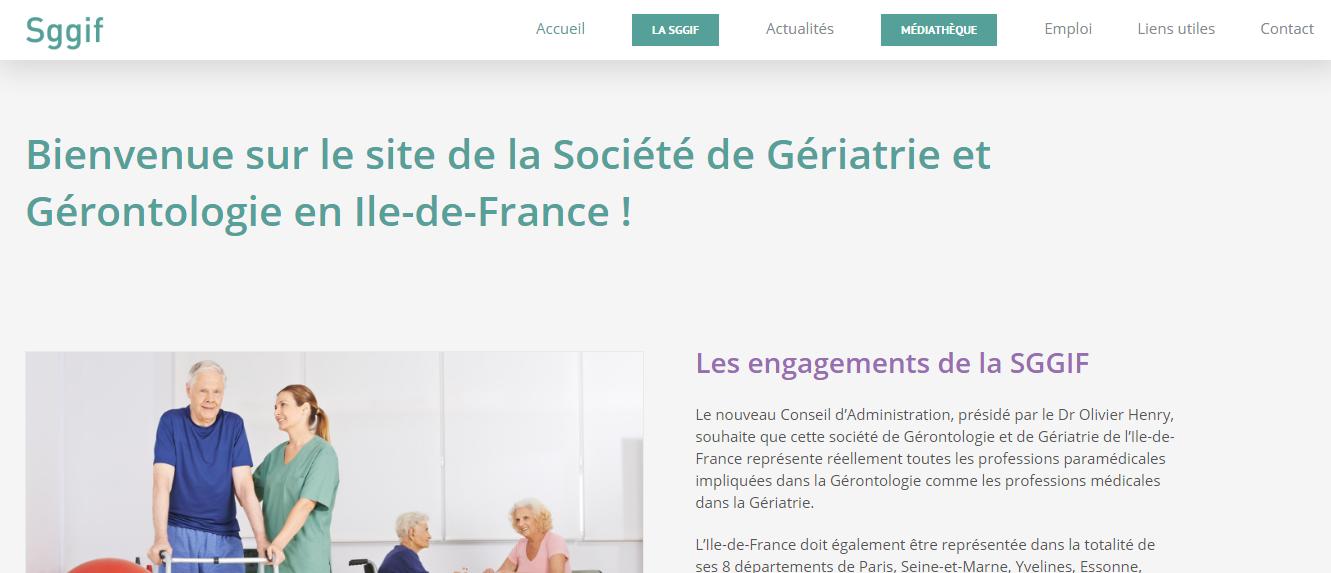Site internet SGGIF