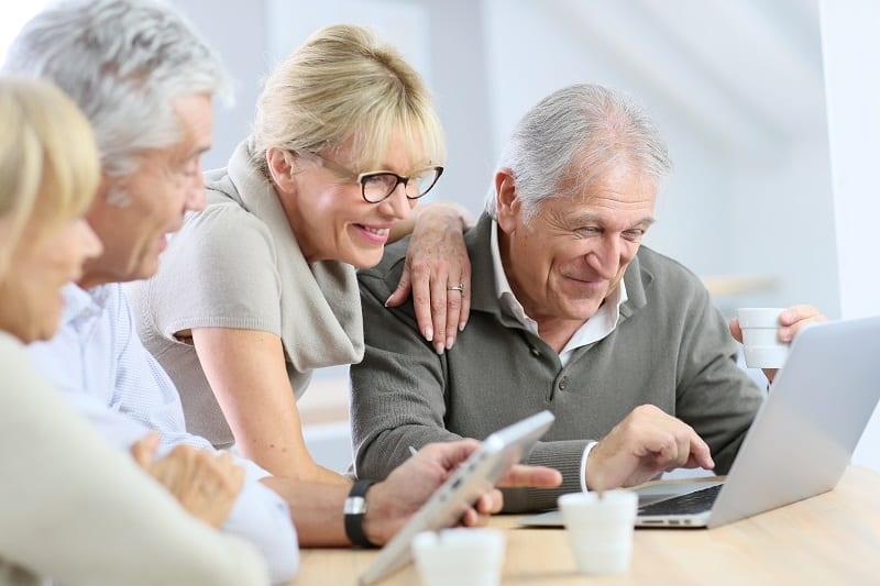 Les personnes âgées et le digital