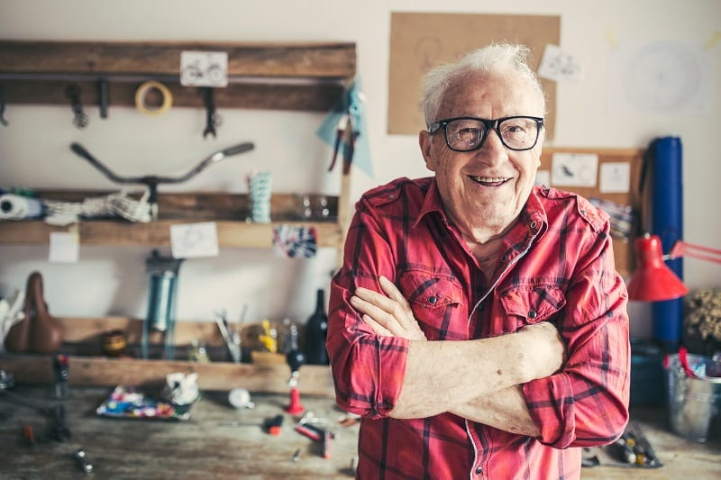 Bricolage à la retraite