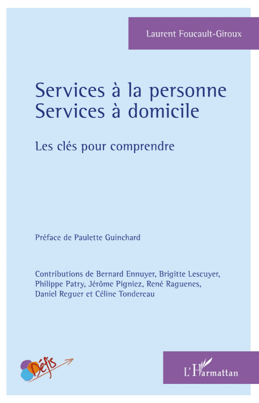 Couverture Livre Services à la personne Services à domicile