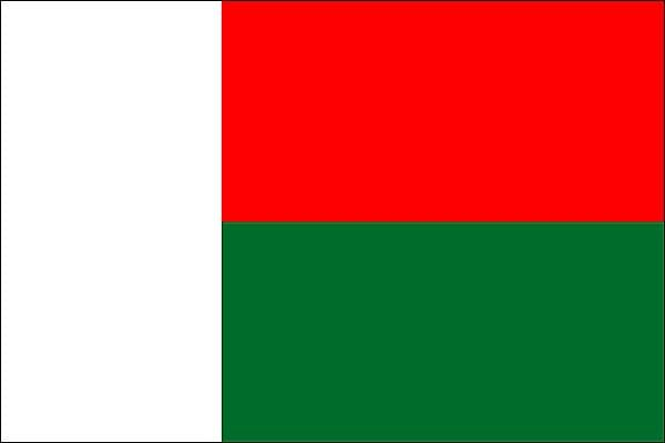 Drapeau de Madagascar