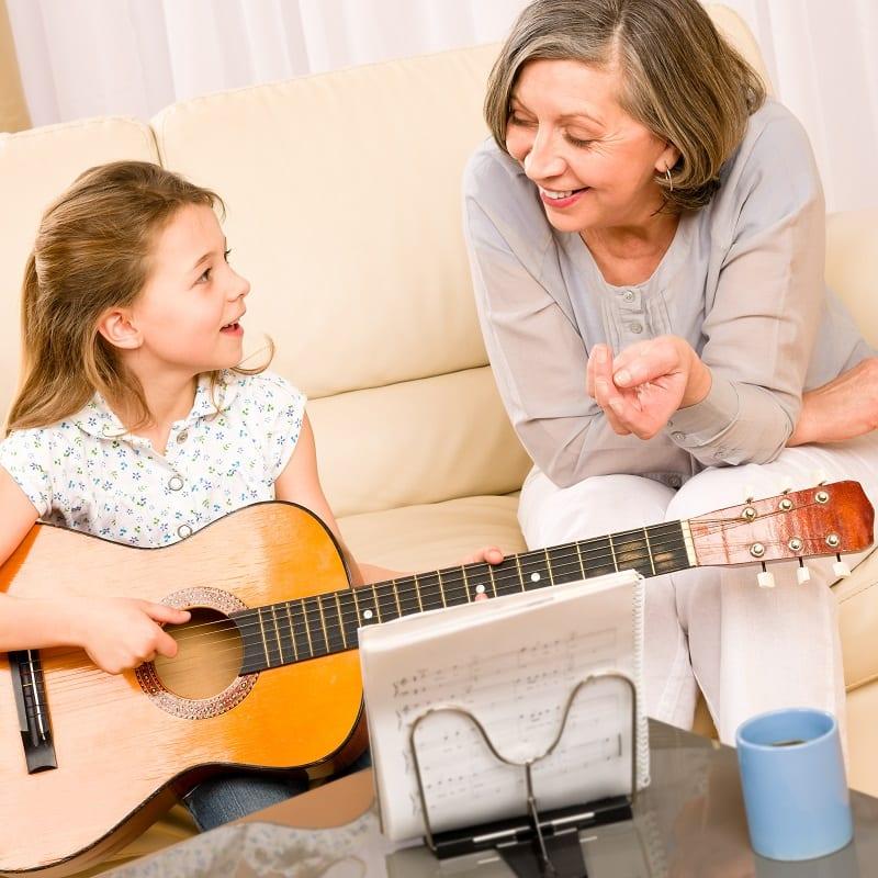 Liens intergénérationnels avec les grands-parents