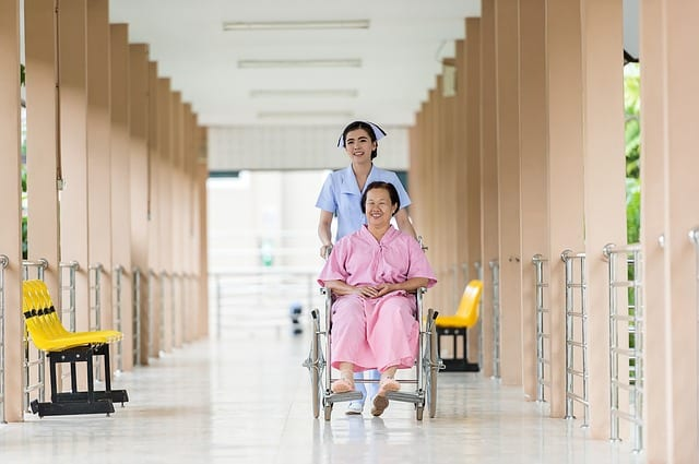 Maison de retraite en Chine