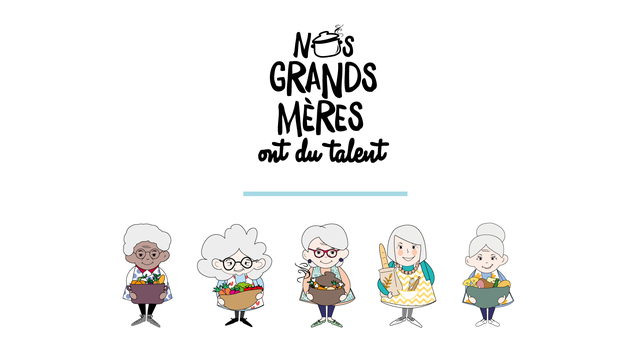 Nos grands-mères ont du talent - Logo