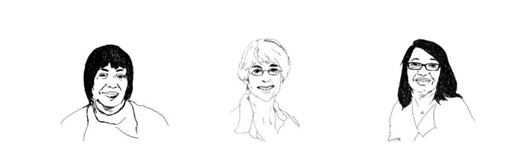 Portraits des femmes âgées de Wooln