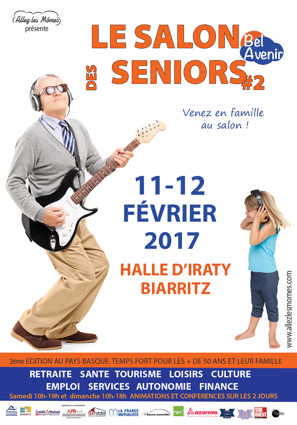 Bel avenir salon des seniors se tiendra biarritz les for Salon des seniors paris