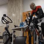 Frédéric Bellanger atteint de Parkinson va pédaler pendant 6 jours