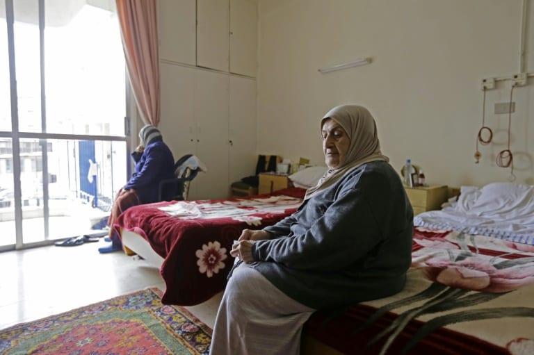 Personnes âgées en Syrie