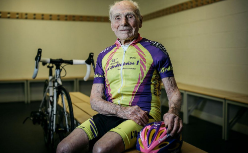 Robert Marchand cycliste de 105 ans