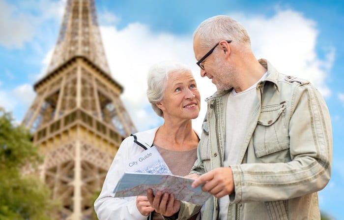 Les seniors en vacances
